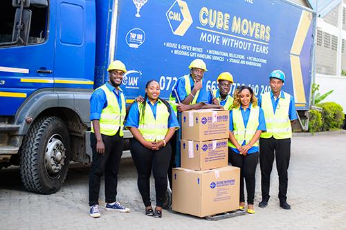 Cube Movers Nairobi Kenya